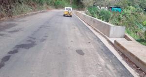 Gracias a infraestructura del departamento, recuperada totalmente la vía en el sector de El Zurrumbo