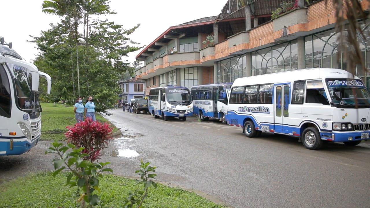 COOPERATIVA DE TRANSPORTADORES DE MARSELLA REINICIA RECORRIDOS INTERMUNICIPALES🚌